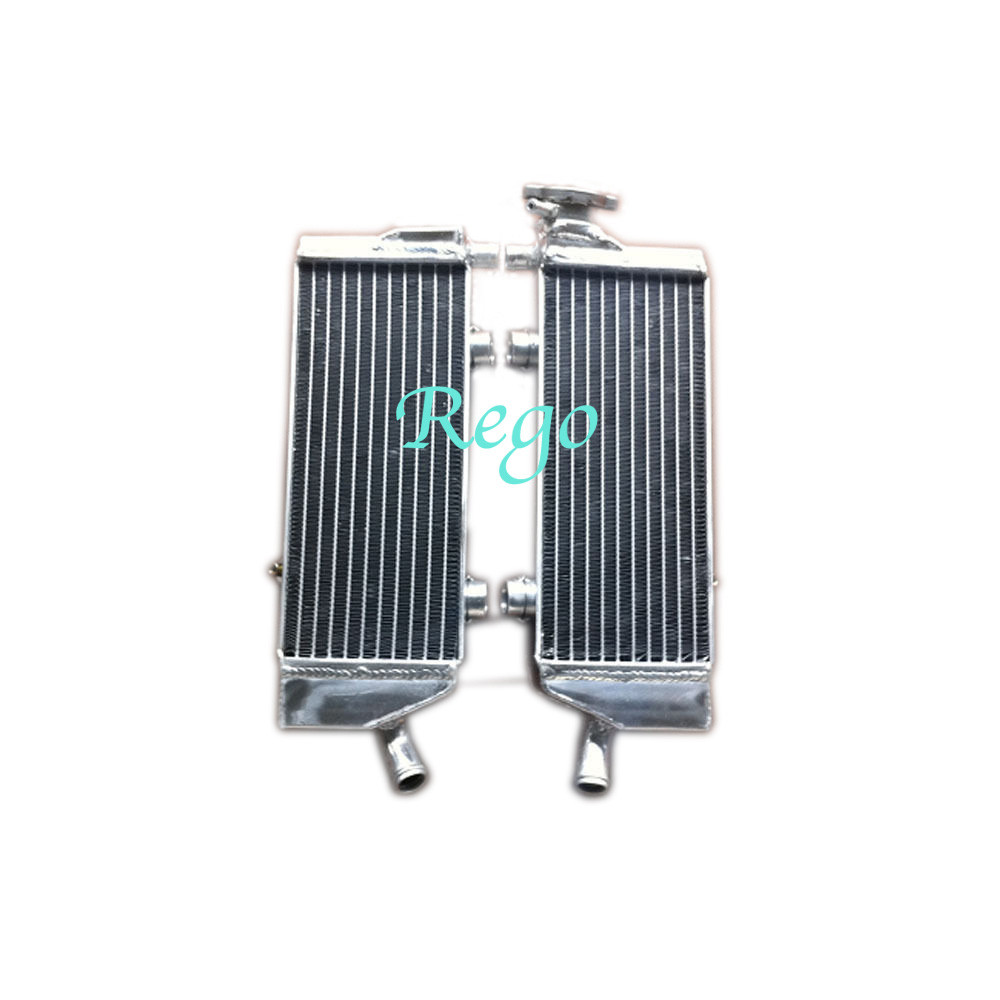 Tig Welded T-6061 Aluminium Customized Motorcycle Radiator For KTM SXF450
