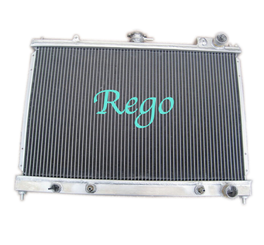 Water Cooling Aluminum Car Radiators For Nissan Pintara / Skyline R31 86 - 93