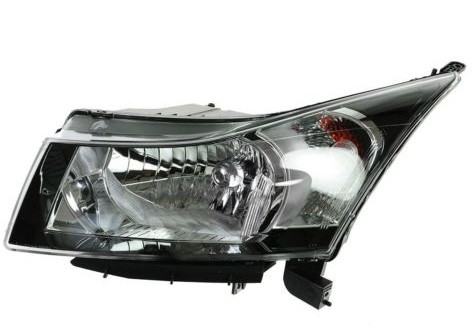 Plastic LED Car Headlights Driver Side Left LH For 12-16 Chevy Cruze